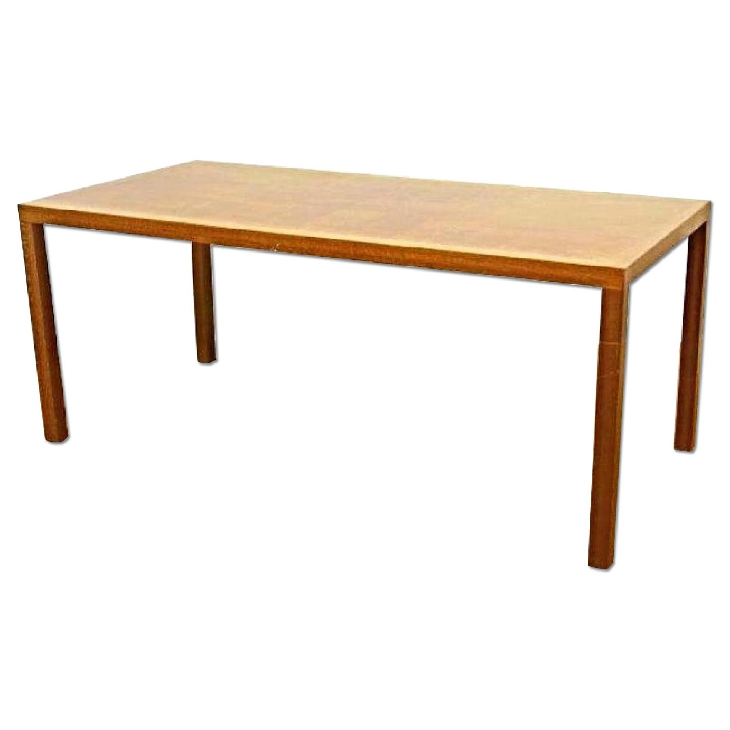 Mid Century Moder Oak Desk Writing/Conference Table