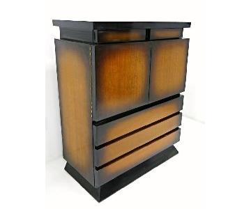 Mid Century Modern 1950's Sunburst Cabinet/Chest