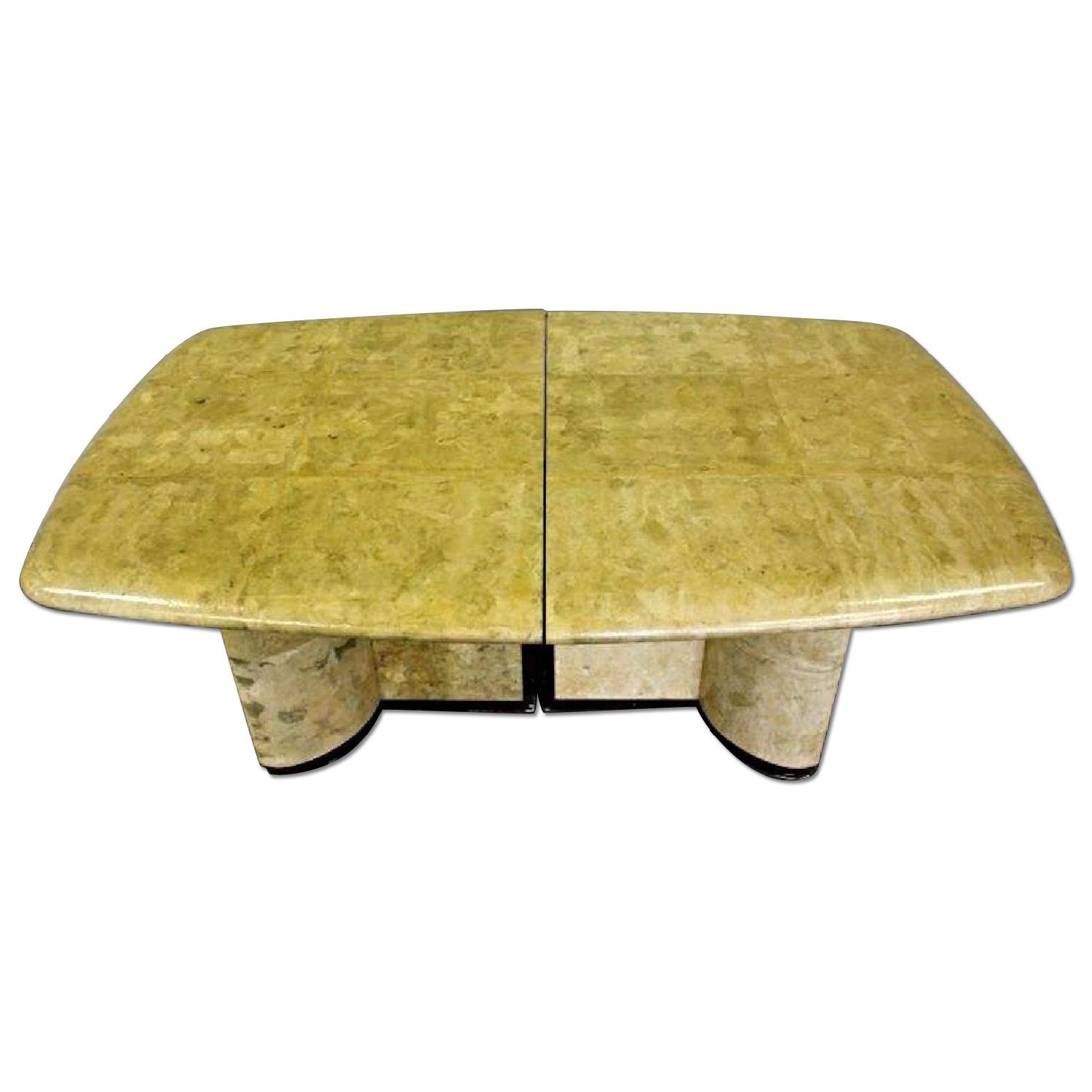 Karl Springer Mid Century Modern Parchment Dining/Conference Table
