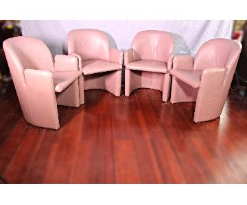Directional Signed Armchairs