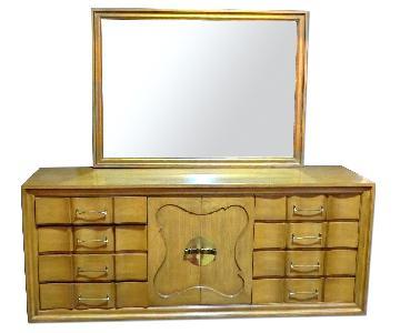 Bethlehem Furniture Mid Century Dresser w/ Mirror