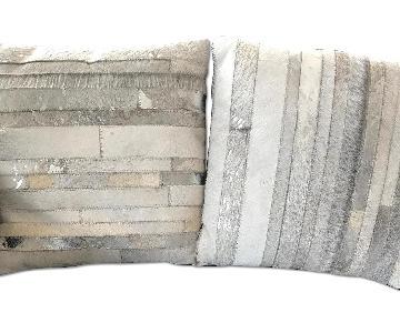 Natural Cowhide Pillows