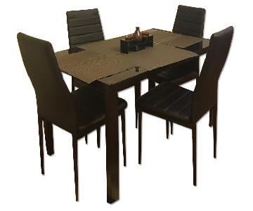 Dining Table w/ 4 Chairs