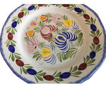 Brittany, France Signed Dinner Plates