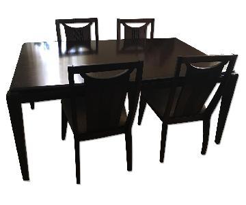 Raymour & Flanigan 6 Piece Dining Set