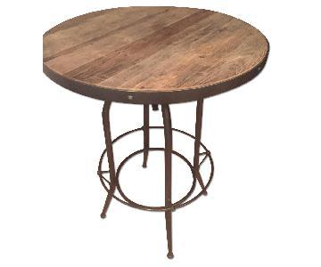 Arhaus High Top Reclaimed Wood Table