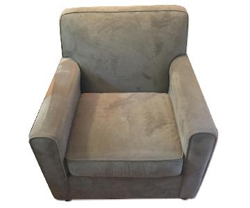 Raymour & Flanigan Microsuede Chair