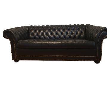 Chesterfield Sofa & Ottoman