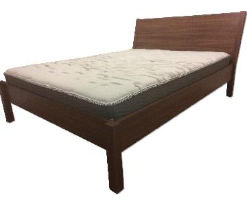 Ikea Queen Bed Frame w/ Slatted Base