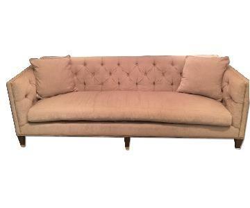 Lillian August Wright Sofa w/ Platinum Nail Trim