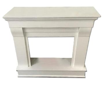 Real Flame Chateau Fireplace Mantel