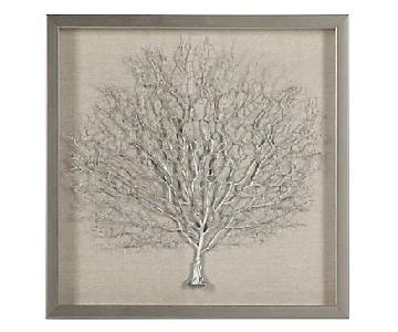Z Gallerie Sterling Sea Fan Shadowbox