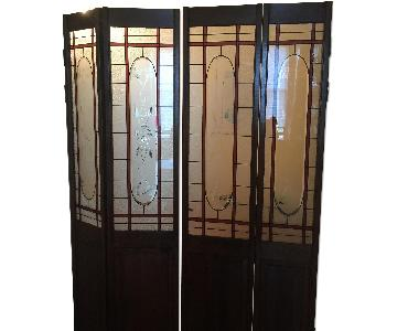 Vintage French Glass Doors