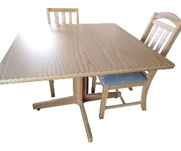 Dining Table w/ 2 Chairs