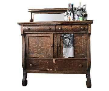 Vintage Wood Bar