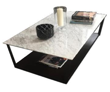 Tui Lifestyle Quarry Marble Top Coffee Table
