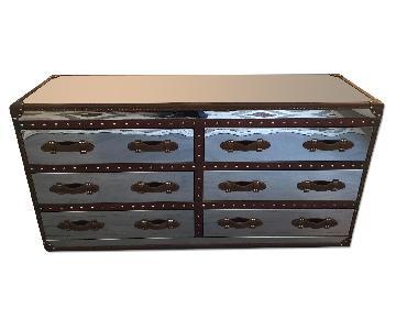 Tui Lifestyle Riviera Stainless Steel Leather Dresser