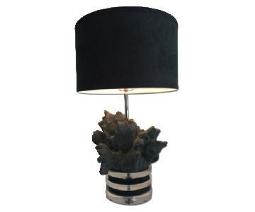 Luxe Dcor Crystal Table Lamp