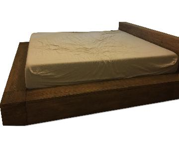 Cal King Size Platform Bed Frame
