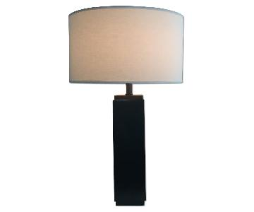 Restoration Hardware Square Column Table Lamp
