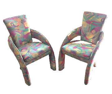 Carson Circa 1970s/80s Art Modern Chairs