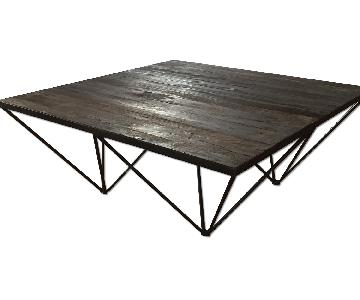 Restoration Hardware Tribeca Modern Coffee Table