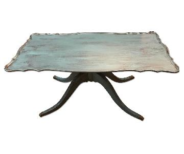 Vintage Shabby Chic Small Coffee Table