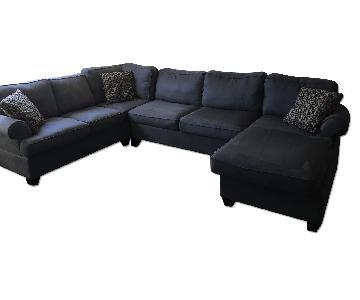 Jennifer Convertibles 3 Piece Sectional Sofa