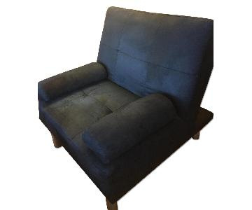 Reclining Chair & Matching Ottoman