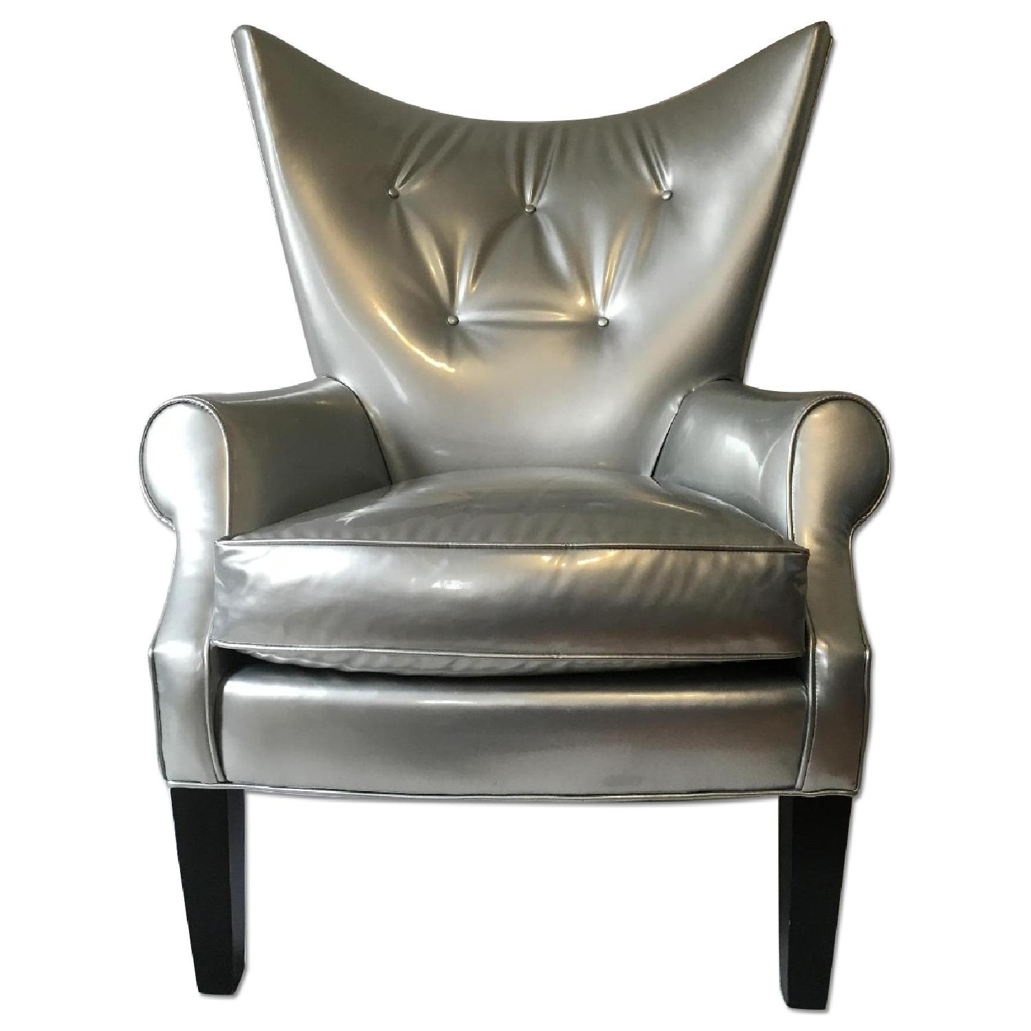 Lillian August Silver Couture Collection Chair