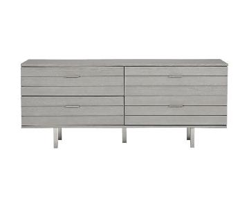 CB2 Concrete Low Dresser
