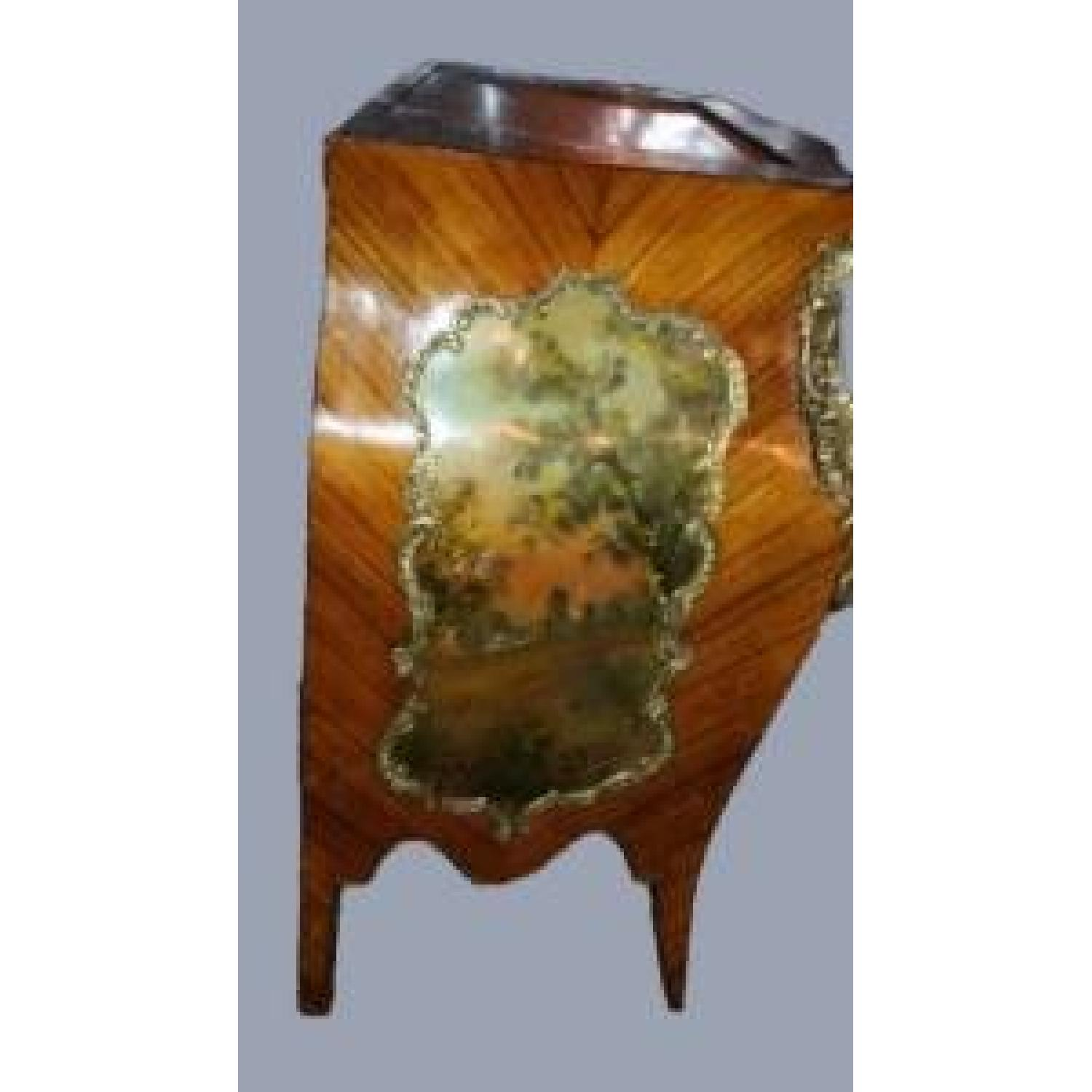 Antique 1880 French Louis XVI Commode/Chest of Drawers - image-4