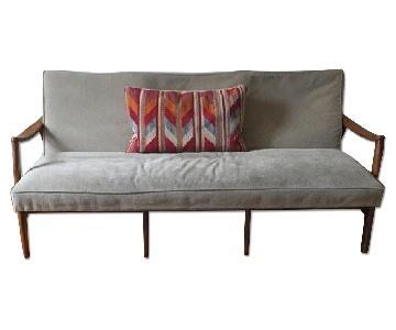 Mid-Century Modern Danish-Style Sofa