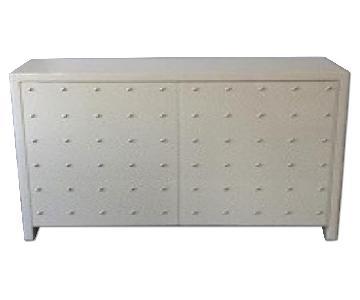 Amir Khamneirpur Studded White Dresser