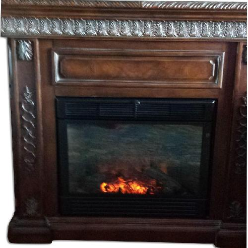 Used Fortunoff Electric Fireplace for sale on AptDeco