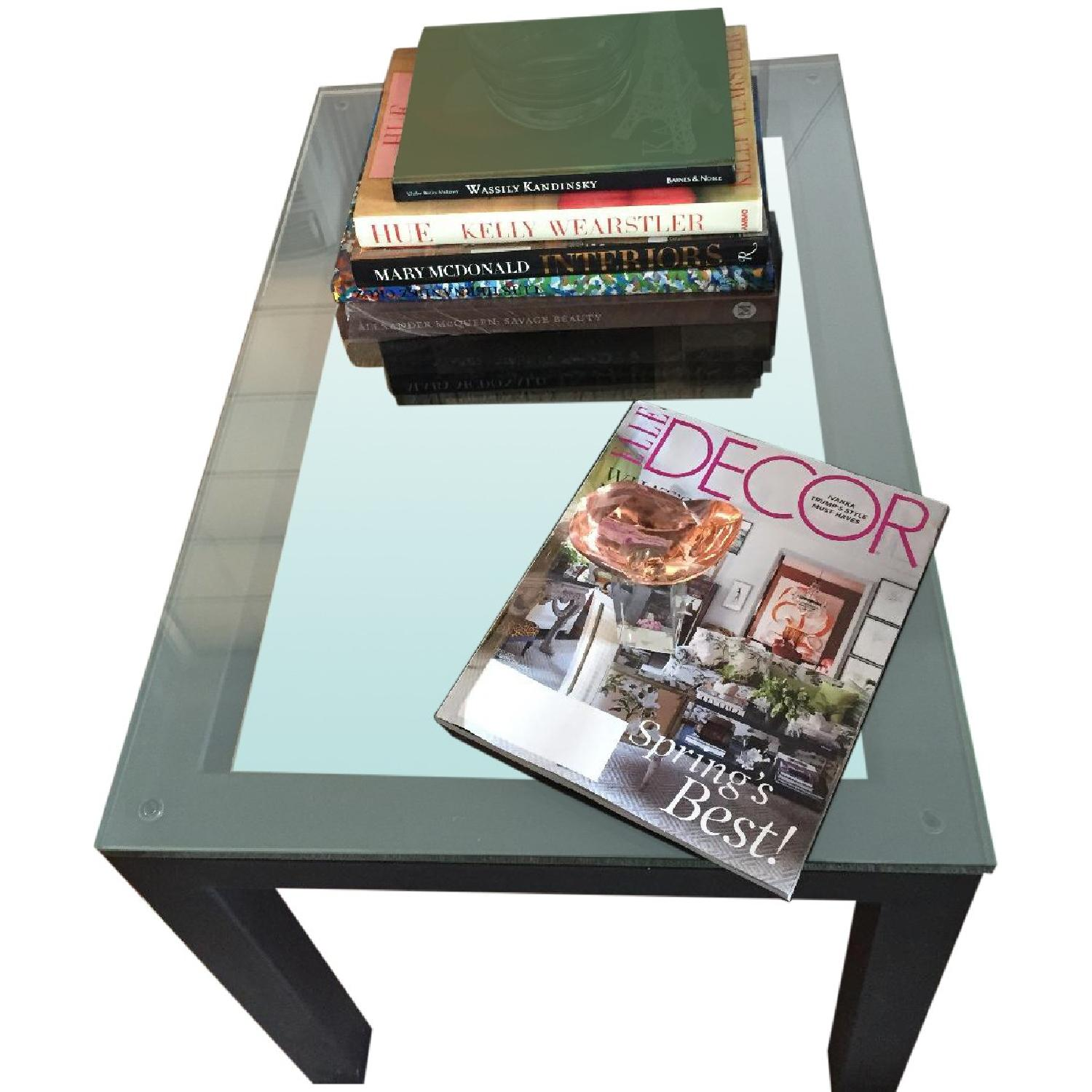 Crate & Barrel Parsons Side Table