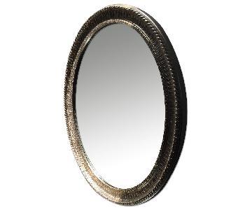 Neiman Marcus Silver Ornate Mirror
