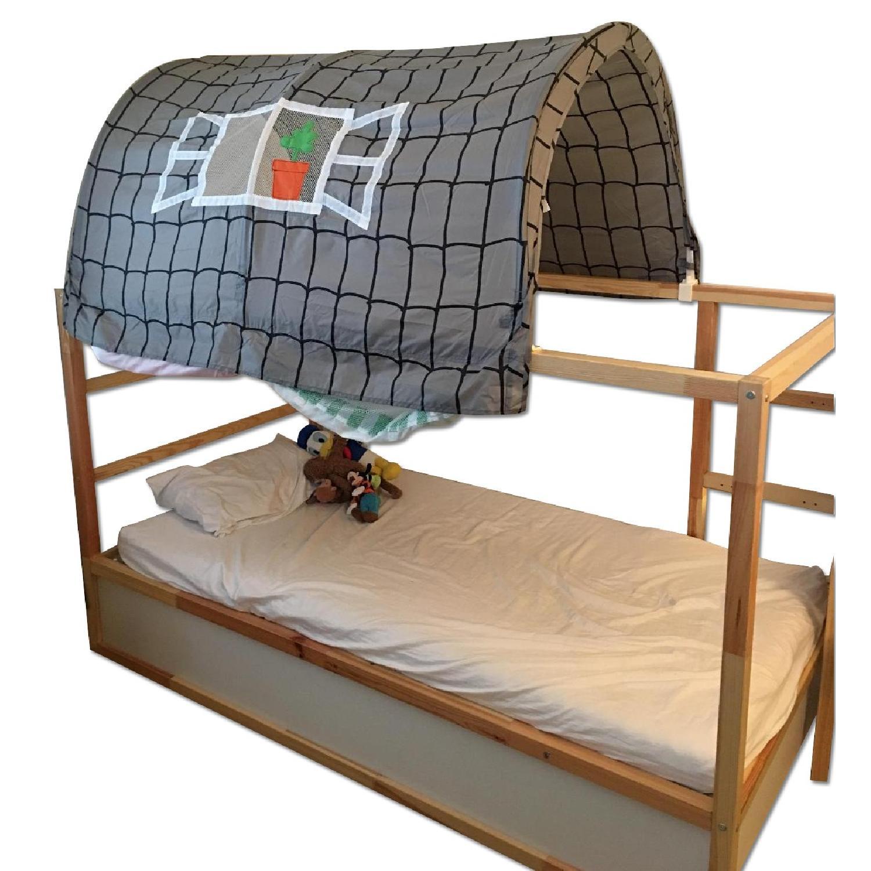 Ikea Kura Reversible Bed Canopy Aptdeco