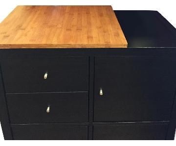 Ikea Shelving Cabinet w/ Wheels