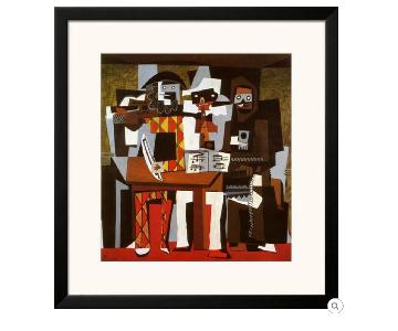 Pablo Picasso Framed Three Musicians