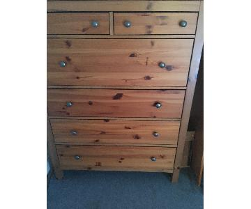 Pottery Barn Solid Wood 6 Drawer Dresser