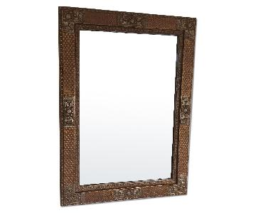 William Wayne Embroidered Mirror