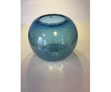 Tui Lifestyle Hand Blown Glass Globe Vase