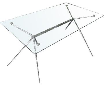 Tui Lifestyle Glass Dining Table
