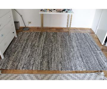West Elm Sweater Wool Rug in Charcoal