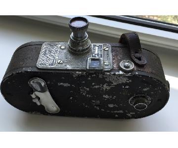 Metal Vintage 1937 Film Movie Camera
