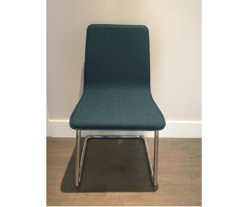 CB2 Peacock Dining Chair