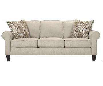 Raymour & Flanigan Langston Sofa & Ottoman