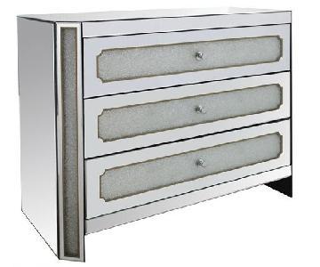 Modern Mirrored Dresser