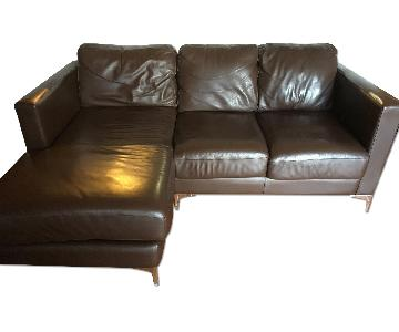 American Leather Classic Sectional Sofa